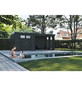 WOLFF FINNHAUS Metallgerätehaus »Eleganto 2724«, 29,2 m³, BxT: 552 x 238 cm mit Lounge-Thumbnail