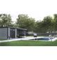 WOLFF FINNHAUS Metallgerätehaus »Eleganto 3024«, 15 m³, BxT: 582 x 238 cm mit Lounge-Thumbnail