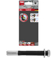 TOX metrischer Langdübel, Metall, 2 Stück, 12 x 100 mm-Thumbnail