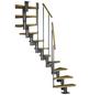 DOLLE Mittelholmtreppe »Dublin«, , , bis 270 cm Raumhöhe-Thumbnail