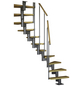 DOLLE Mittelholmtreppe »Dublin«, , , bis 292 cm Raumhöhe-Thumbnail