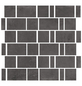 RENOVO Mosaikfliese »Esprit«, BxL: 30 x 30 cm, anthrazit-Thumbnail
