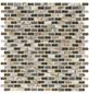 Mosaikmatte »5TH D-Brow«, BxL: 28,5 x 28,5 cm, Wandbelag-Thumbnail
