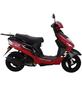 ALPHAMOTORS Motorroller »City Leader«, 50 cm³, 45 km/h, Euro 4-Thumbnail