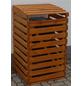 PROMADINO Mülltonnenbox, aus Kiefernholz, 67,5x111x63cm (BxHxT), 120 Liter-Thumbnail