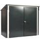 TEST RITE tepro GmbH Mülltonnenbox, aus Stahlblech, 154,2x130,5x96cm (BxHxT), 480 Liter-Thumbnail