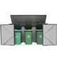 Westmann Mülltonnenbox, aus verzinktem Stahl, 235x128x97cm (BxHxT), 720 Liter-Thumbnail