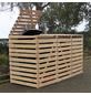 PROMADINO Mülltonnenbox, BxHxT: 92 x 122 x 219 cm, natur-Thumbnail