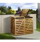 Mülltonnenbox »Mülltonnenbox 2«, aus Holz, 148x122x92cm (BxHxT), 480 Liter-Thumbnail