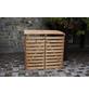 PROMADINO Mülltonnenbox »Vario 4«, aus Holz, 136x122x91,5cm (BxHxT), 480 Liter-Thumbnail