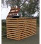 PROMADINO Mülltonnenbox »Vario«, Kiefernholz, honigbraun, BxHxT: 219 x 122 x 92 cm-Thumbnail
