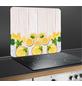 WENKO Multi-Platte, BxHxL: 56 x 0,5 x 50 cm, Glas/Silikon, mehrfarbig-Thumbnail