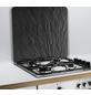 WENKO Multi-Platte »Schiefer«, BxHxL: 56 x 0,5 x 50 cm, Glas/Silikon, schiefergrau-Thumbnail