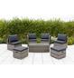 MERXX Multifunktionslounge »Agira«, 6 Sitzplätze, inkl. Auflagen-Thumbnail