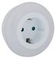 REV Nachtlicht, 1 W, Weiß, mit Dämmerungsautomatik u. Steckdose, 1-flammig, 8,5 x 8 cm-Thumbnail