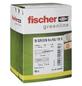FISCHER Nageldübel, N GREEN, Nylon, 45 Stück, 6 x 40 mm-Thumbnail