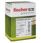 FISCHER Nageldübel, N GREEN, Nylon, 45 Stück, 6 x 60 mm-Thumbnail