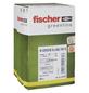 FISCHER Nageldübel, N GREEN, Nylon, 45 Stück, 6 x 80 mm-Thumbnail
