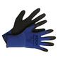 KIXX Nylonhandschuhe »Nylon/Latex«, blau/schwarz-Thumbnail