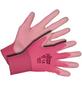 KIXX Nylonhandschuhe »Nylon/Polyurethan«, rosa/pink-Thumbnail