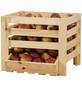 PROMADINO Obst- und Kartoffelhorde, BxHxL: 40 x 33 x 36 cm, Kiefernholz-Thumbnail