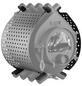 KANUK® Ofenverkleidung für Warmluftofen Kanuk Original 15 kW, BxL: 63 x 63 cm, Edelstahl-Thumbnail