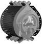 KANUK® Ofenverkleidung für Warmluftofen Kanuk Original 7 kW, BxL: 43 x 43 cm, Stahl-Thumbnail