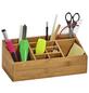 ZELLER Organizer, Bambus, glatt, natur-Thumbnail