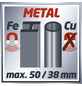 EINHELL Ortungsgerät »TC-MD 50«, schwarz/rot-Thumbnail