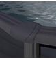 GRE Ovalpool, graphitfarben, BxHxL: 375 x 120 x 730 cm-Thumbnail