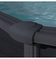 GRE Ovalpool, grau, BxHxL: 300 x 132 x 500 cm-Thumbnail