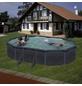 GRE Ovalpool, grau, BxHxL: 375 x 132 x 610 cm-Thumbnail