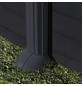GRE Ovalpool, grau, BxHxL: 375 x 132 x 730 cm-Thumbnail