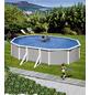 MYPOOL Ovalpool, grau/weiß, BxHxL: 375 x 120 x 730 cm-Thumbnail