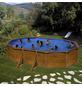 GRE Ovalpool, Holzoptik, BxHxL: 300 x 120 x 500 cm-Thumbnail