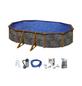 Ovalpool , oval, BxLxH: 300 x 500 x 120 cm-Thumbnail