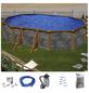 Ovalpool , oval, BxLxH: 375 x 730 x 120 cm-Thumbnail