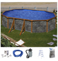 Ovalpool , oval, BxLxH: 610 x 375 x 120 cm-Thumbnail