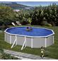 Ovalpool-Set,  oval, B x L x H: 375 x 610 x 120 cm-Thumbnail