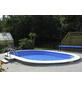 Ovalpool-Set,  oval, B x L x H: 500 x 1100 x 150 cm-Thumbnail