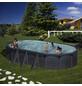 GRE Ovalpool Set , oval, BxLxH: 375 x 730 x 120 cm-Thumbnail