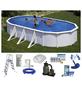 SUMMER FUN Ovalpool-Set,  oval, BxLxH: 375 x 730 x 120 cm-Thumbnail