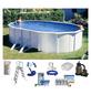 SUMMER FUN Ovalpool-Set Ovalformbeckenset , oval, BxLxH: 375 x 610 x 120 cm-Thumbnail