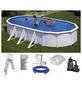 SUMMER FUN Ovalpool-Set Ovalformbeckenset , oval, BxLxH: 375 x 730 x 120 cm-Thumbnail