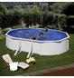 GRE Ovalpool, weiß, BxHxL: 300 x 120 x 500 cm-Thumbnail