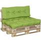 DOPPLER Paletten-Sitzkissen, hellgrün, Uni, BxL: 80 x 120 cm-Thumbnail