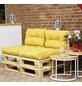 SIENA GARDEN Palettenkissen »Almaaz«, gelb, Uni, BxL: 80 x 60 cm-Thumbnail