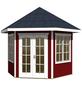 SKANHOLZ Pavillon »Almelo«, Spitzdach, sechseckig, B x T: 420 x 373 cm-Thumbnail