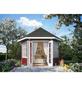 SKANHOLZ Pavillon »Almelo«, Spitzdach, sechseckig, BxT: 420 x 373 cm, inkl. Dacheindeckung-Thumbnail