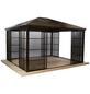SOJAG Pavillon »Castel«, rechteckig, BxHxT: 427 x 296 x 362 cm-Thumbnail